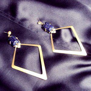 Gerard Yosca statement earrings